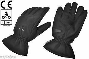 Gants-moto-coques-doubles-WATERPROOF-HOMOLOGUES-CE-1KP-noirs-Taille-XL