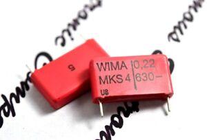 4pcs-WIMA-mks4-0-22uf-0-22-f-220nf-630v-5-Pitch-22-5mm-Polyester-Kondensator