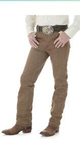 Wrangler-Men-039-s-Cowboy-Cut-Slim-Fit-Jean-Black-Whiskey-33x34
