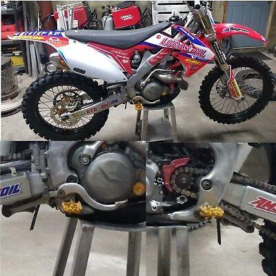 Motorcycle Foot Pegs Rest Pedal Footpegs For Honda CRF150F CRF230F CRF 150F 230F 03-19 Dirt Bike