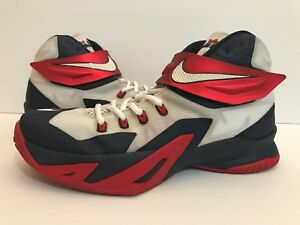 Nike Zoom Lebron Soldier VIII USA Red