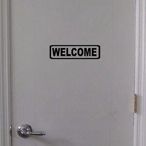 WELCOME-Door-Sign-Vinyl-Decal-Sticker-Door-Window-Wall-Business-Office-Home