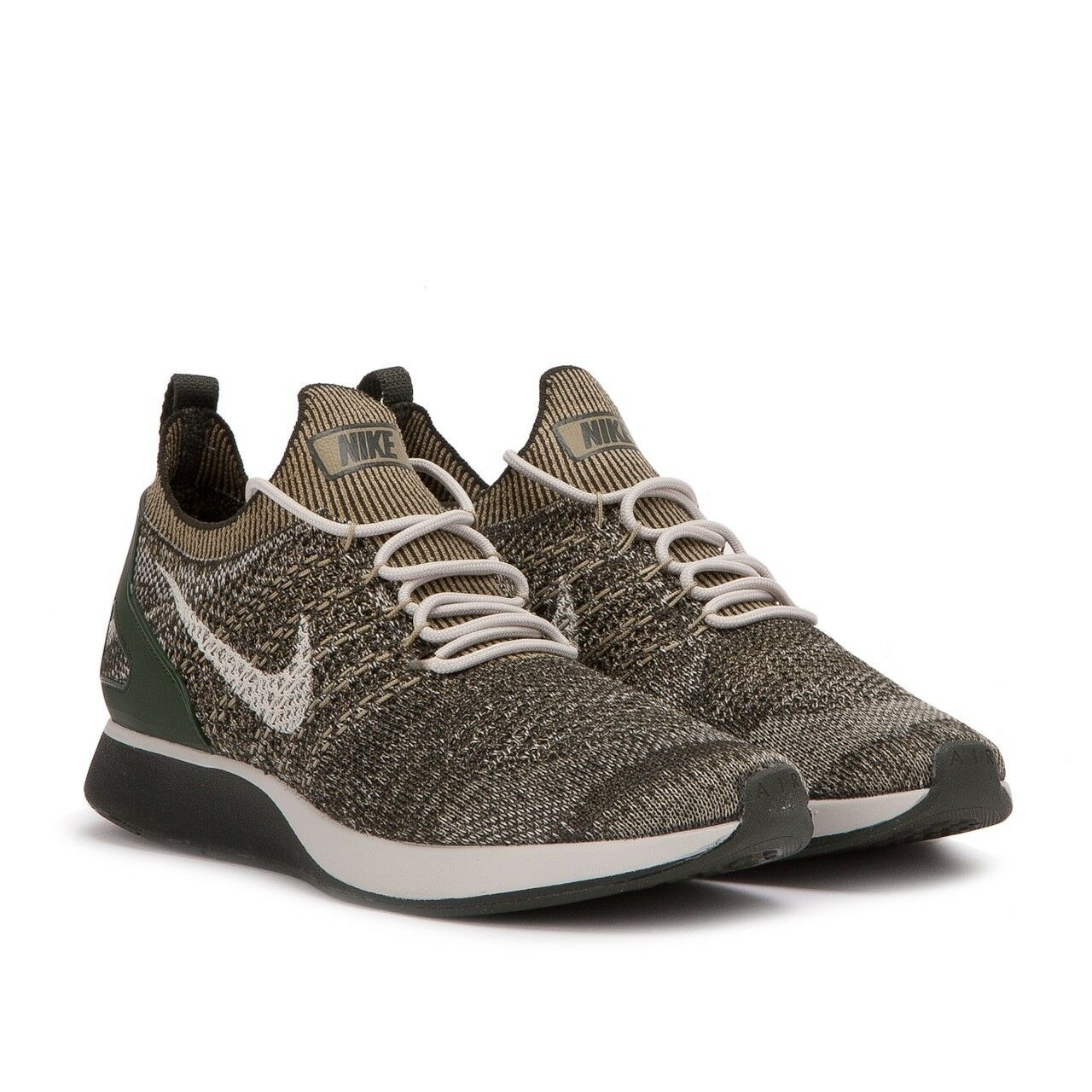 Nike Men's Free Rn Flyknit Racer Running Shoes 918264 301 Neutral Olive 10