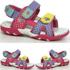 GIRLS SUMMER SANDALS INFANTS NEW BABY TODDLERS WALKING BEACH SHOES SIZE 7e5fadcfb