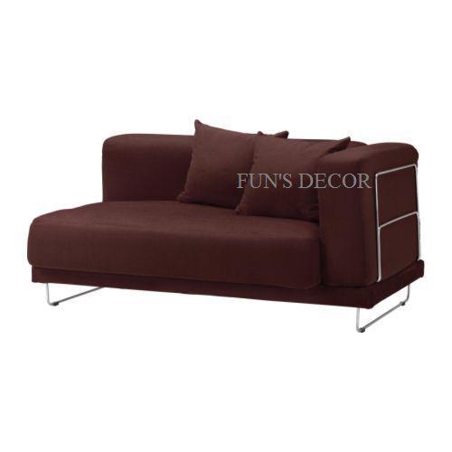 NEW IKEA TYLOSAND Loveseat Cover Slipcover - Everod Dark Red