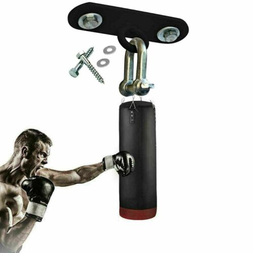 Details about  /Boxing Punch Bag Curved Iron Ceiling Hook Mount Heavy Duty MMA Training Hanger