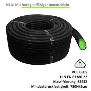 Wellrohr, Panzerohr, flexibles Installationsrohr, Elektrorohr, Kabel Schutzrohr