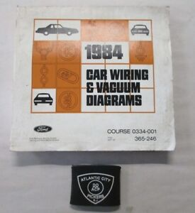 1984 FORD CAR MUSTANG THUNDERBIRD CONTINENTAL VACUUM ...