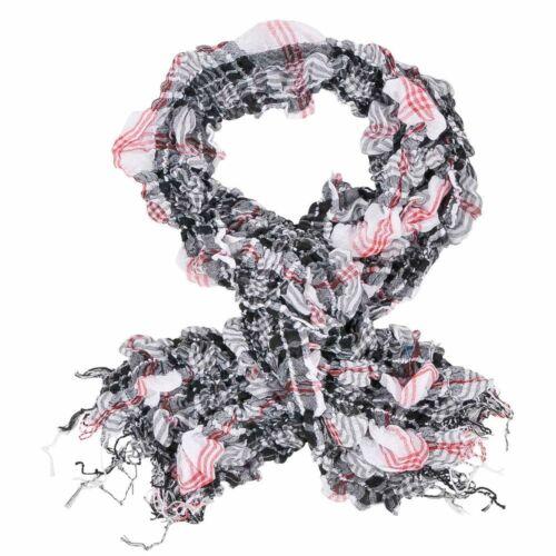 Halstuch Tücher Schal Schlauchschal Loop Pali Tuch Arafat Kariert Punkte Muster