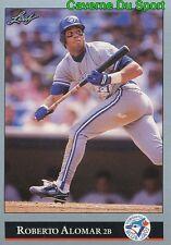 233   ROBERTO ALOMAR    TORONTO BLUE JAYS  BASEBALL CARD LEAF 1992