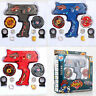 Top Fusion Metal Master Fight Rapidity Rare 4D Beyblade Launcher Sets Kids Toys