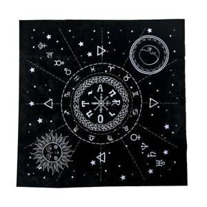 Constellation-Tarot-Table-Card-Cloth-Divination-Velvet-Tapestry-Black-Square
