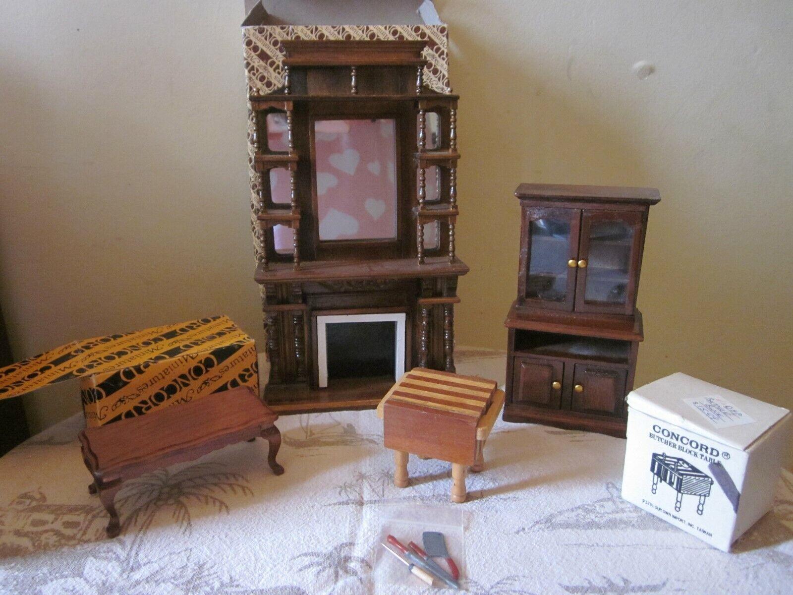 Concord Dollhaus  Möbel  Masse