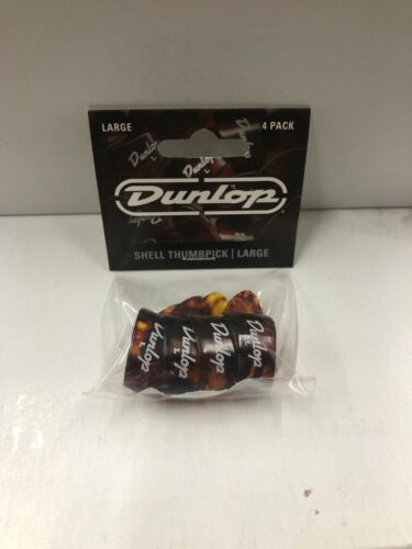 4//Player/'s Pack Large Dunlop 9023P Shell Plastic Thumbpicks
