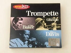 TROMPETTE-CHET-BAKER-DIZZY-GILLESPIE-MILES-DAVIS-BOX-3-CD-DIGIPACK-JAZZ-EX