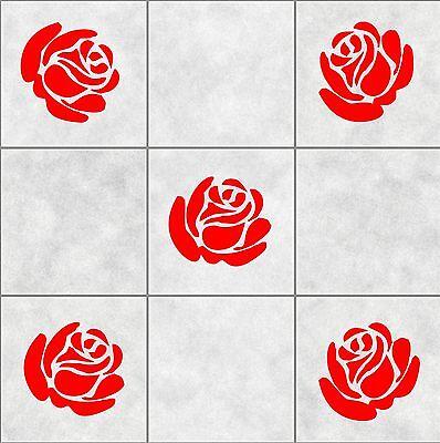 16 CELTIC HEART PATTERN tile stickers BATHROOM  WALL ART  DECOR DECAL KITCHEN