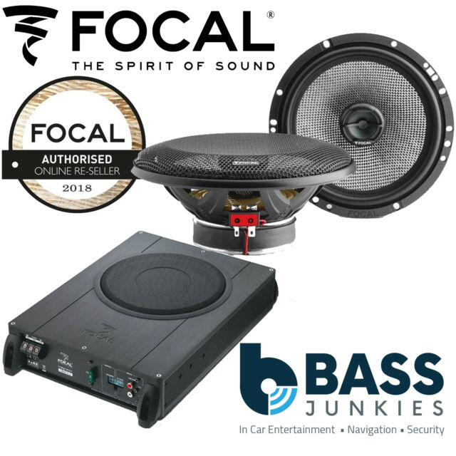 Active Bass Tube 2.1 System by Focal 20cm 8 Amplified Sub Focal iBus 2.1 Under Seat Active Subwoofer
