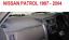 DASHBOARD COVER FIT   NISSAN PATROL GU 1997-2004 DASHMAT DASH MAT BLACK