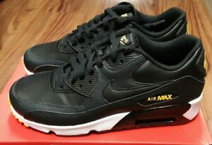 AIR MAX 90 LEATHER (GS) WHITE CHROME YELLOW