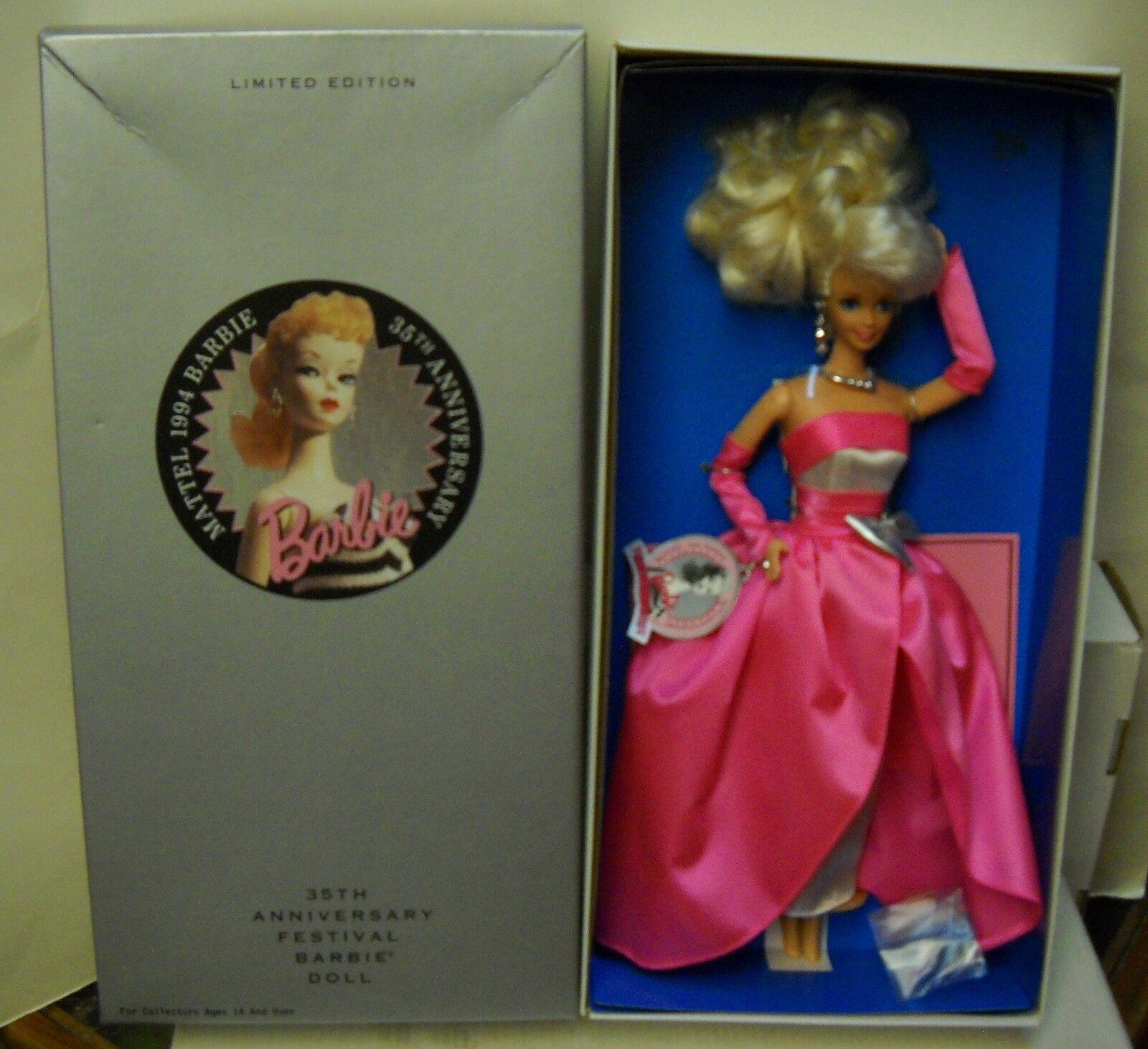 Nrfb Mattel 1994 35 Aniversario Festival Muñeca Barbie