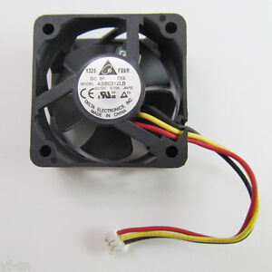 Computer Case Fans 3pcs New Delta 30x30x15mm 3015 ASB0312LB 12V 0.1A 3Wire HDD Cooling Fan Fans, Heat Sinks & Cooling