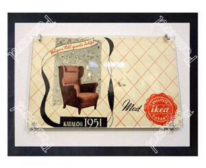 Historic-Ikea-039-s-furniture-in-1951-Advertising-Postcard