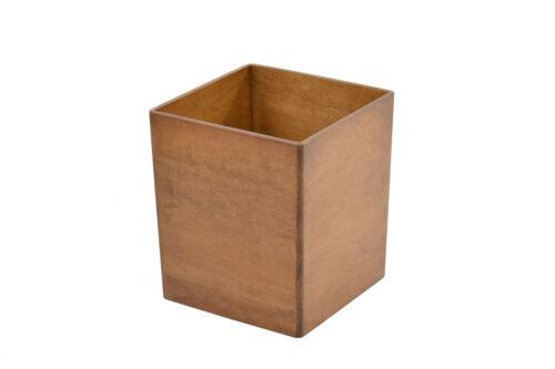 CQ-2-34 maple NEW Wooden waste baskets