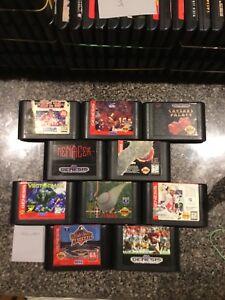 Lot Of Ten Sega Genesis Games All Working