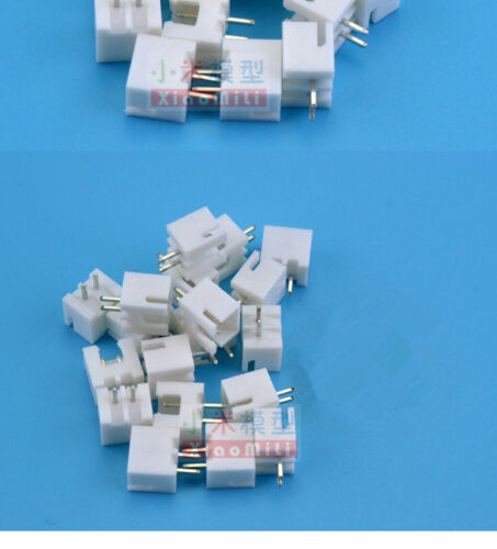 """2 Pin PCB Plug and Socket 100mm Wire RC Car #1623 10Pairs JST XH 2.54mm 0.1/"""""""