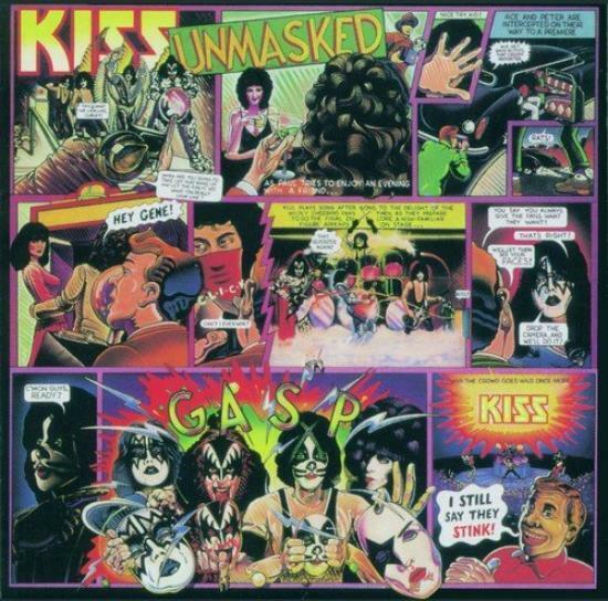 Kiss - Unmasked CD #87042