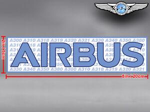 AIRBUS-FAMILY-RECTANGULAR-LOGO-DECAL-STICKER-8x2in-20x5cm