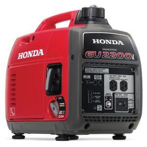 Honda EU2200i 2200-Watt 120-Volt Super Quiet Portable ...