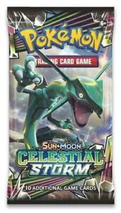 Sun-amp-Moon-Celestial-Storm-Booster-Pack-Pokemon-New-Pokemon