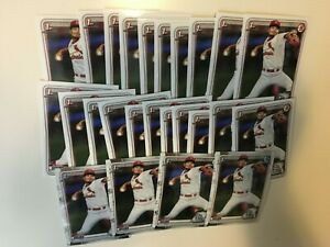 ALVARO-SEIJAS-2020-1ST-BOWMAN-PROSPECT-CHROME-PAPER-ROOKIE-RC-CARDS-LOT-OF-25