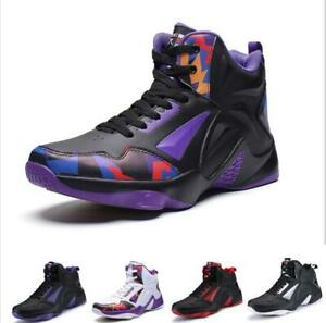 Casuals-Shoes-Men-Sneaker-Basketball-Lace-up-High-Top-Athletic-Breathable-Sport