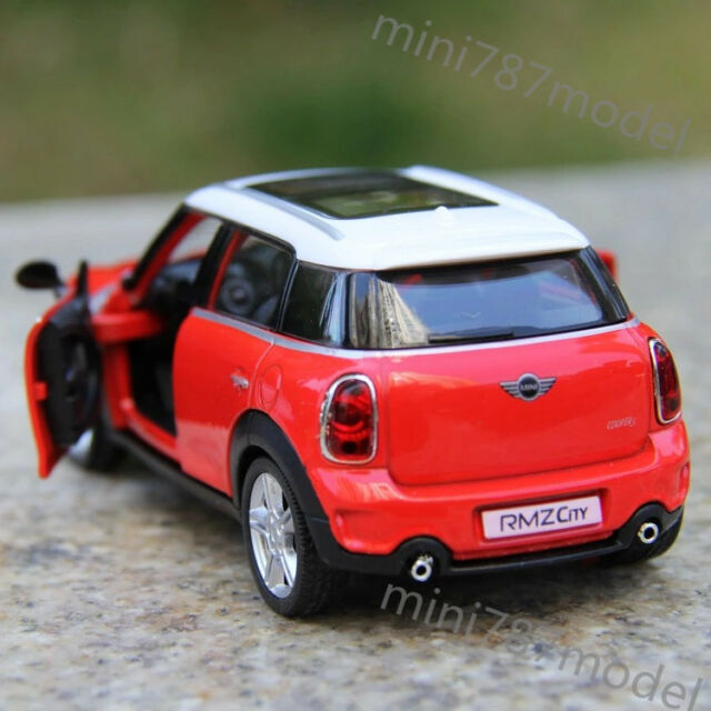 Bmw Mini Cooper Red Model Cars 5 Inches Collections Gifts Alloy Cast Toy New