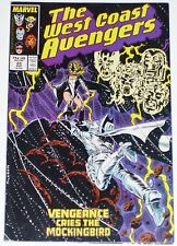 West Coast Avengers #23 from Aug 1987 VG+ to F-