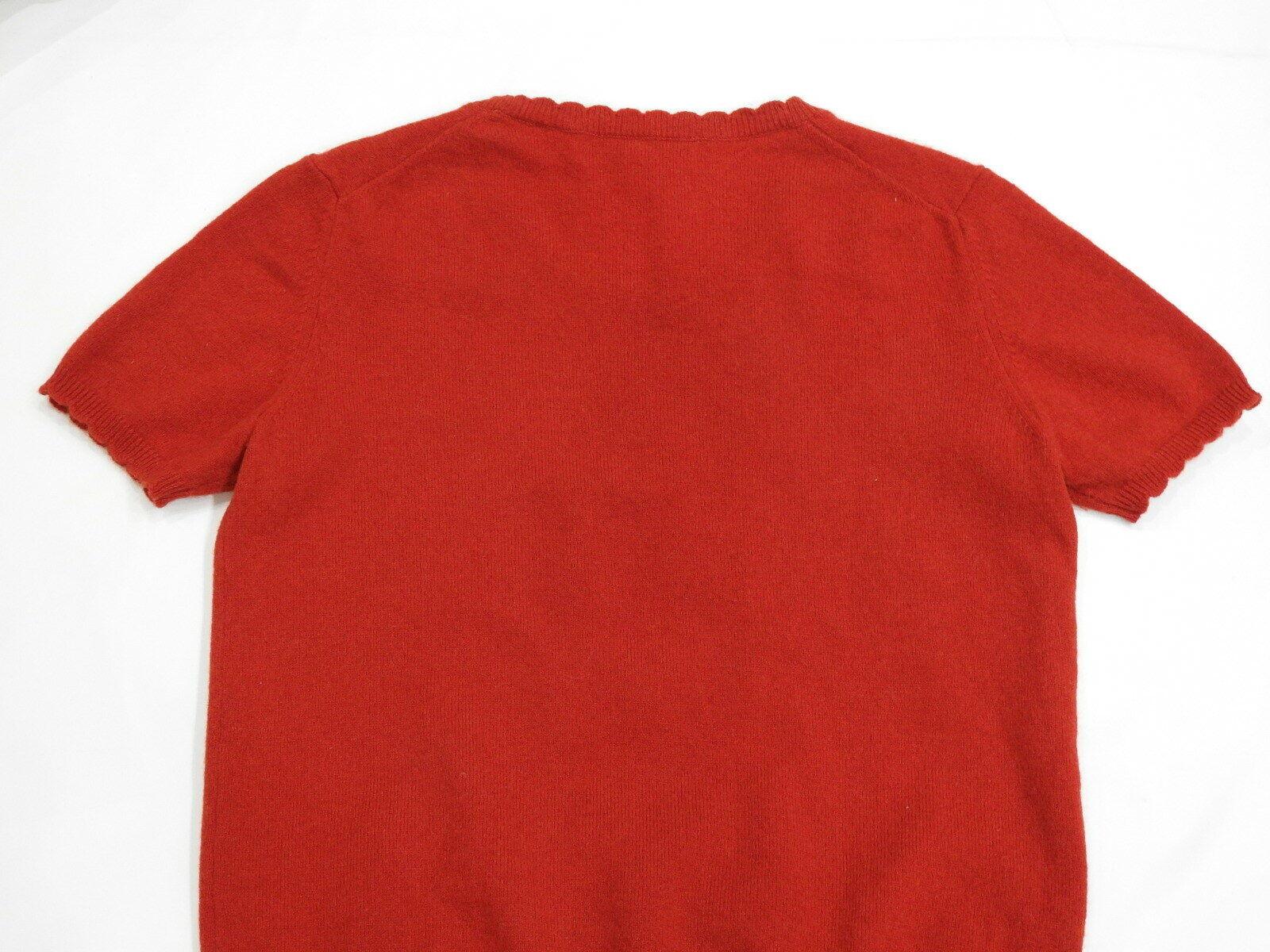 Ines De La Fressange For Uniqlo 100% Cashmere Sweater Sweater Sweater Top Red Small S 35b6db