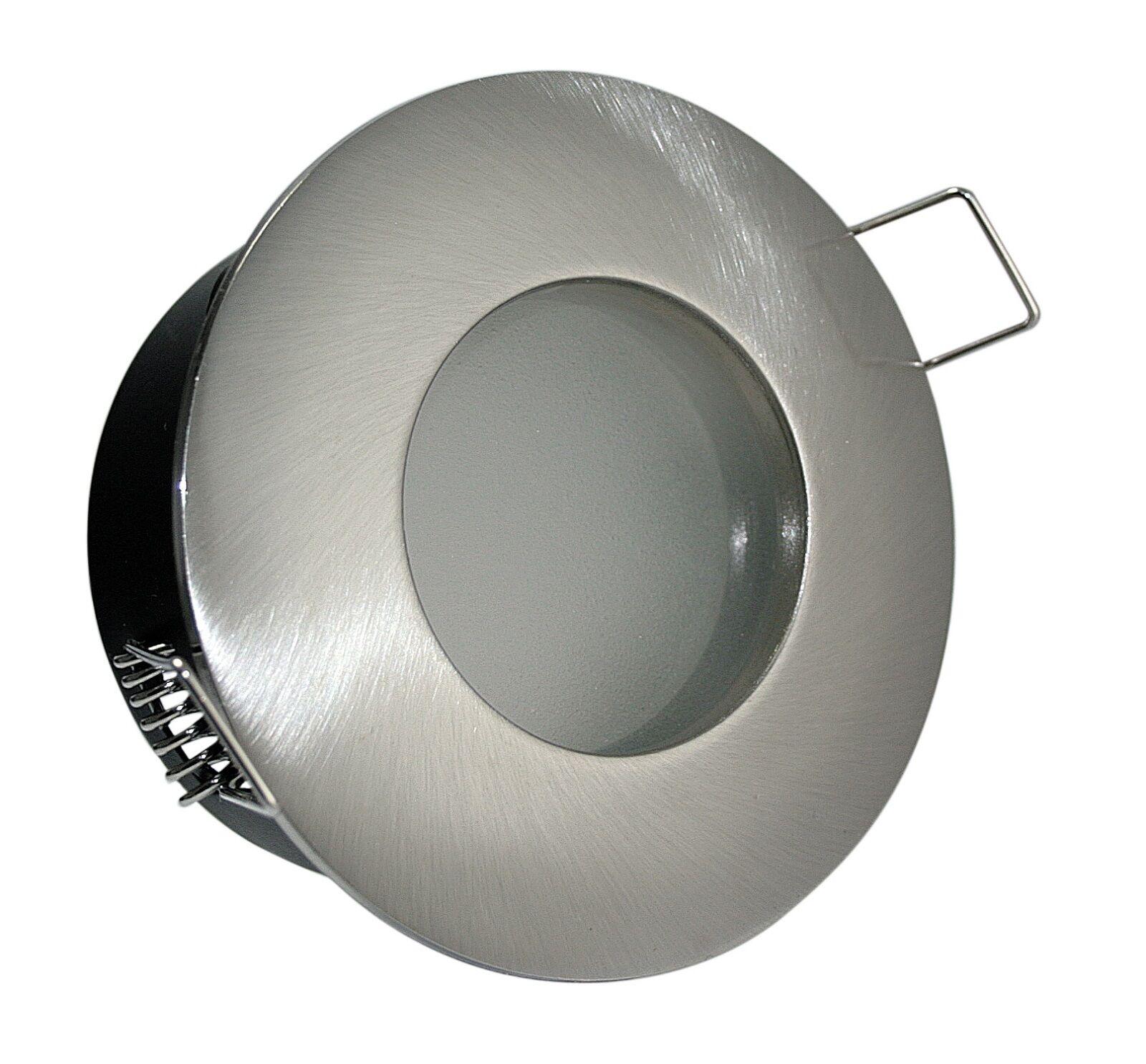 230V LED Feuchtraum Einbaustrahler Aqua 7W = 52W Bad & Dusche IP65 mit GU10 LM