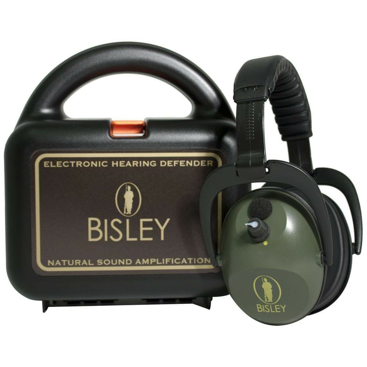 Bisley Active Electronic Hearing Ear Defenders Predection Shooting Clay Pigeon