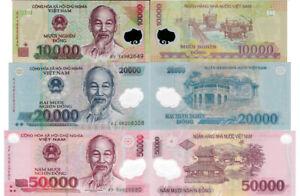 Vietnam 10,000 Pick 119-New Polymer 10000 dong UNC 2017