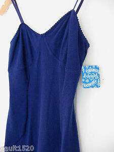 NWT-Free-People-Intimately-Sexy-Periwinkle-Blue-Bodycon-Chemise-Nightie-S-68
