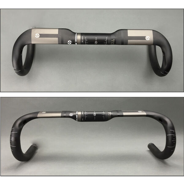Ultra Light UD Carbon Fiber Racing Bend Handlebar 31.8 x 40 42 44cm For RoadBike