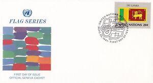 UN54-United-Nations-1981-Sri-Lanka-20c-Stamp-Flag-Series-FDC-Price-4-00