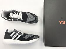 b8ae1530c Y-3 Pure Boost ZG Knit in Black white white Aq5731 Sizes 8-12 11 for ...
