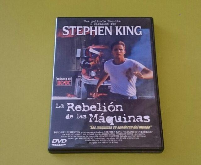 DVD.- LA REBELION DE LAS MAQUINAS - STEPHEN KING - EMILIO ESTEVEZ
