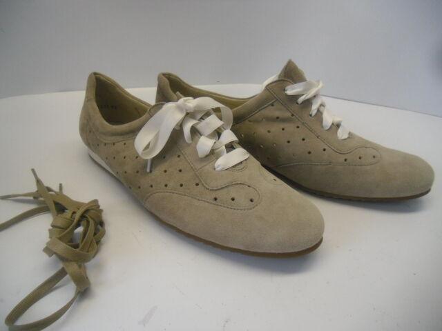 Neue sehr schöne 42 Peter Kaiser Sneakers Gr 8 = 42 schöne in Echtleder Beige 904c6d