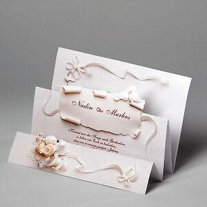 Das Bild Wird Geladen 1 00 Bis 79 90 Edle Hochzeitskarten Textdruck