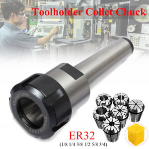 ER32-MT3-Taper-Shank-Chuck-Holder-1-2-1-4-3-4-1-8-3-8-5-8-CNC-Spring-Collet-Set