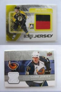 2010-11-ITG-Heroes-and-Prospects-M-16-Jamie-Arniel-black-red-MULTICOLOR-game-je